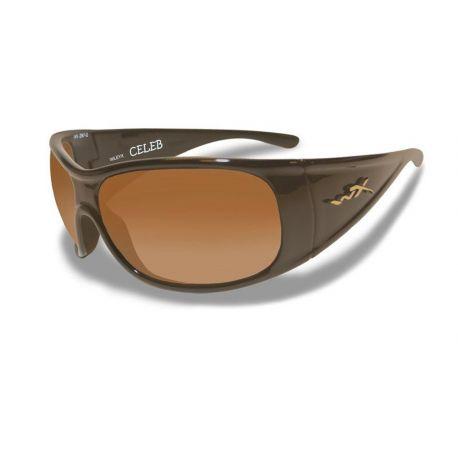 Wiley X - CELEB Fade Brown Metallic Brown Frame