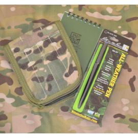 All-Weather notebook startsæt - brystlomme, MultiCam