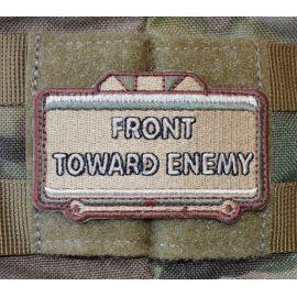 Front Toward Enemy - Sand/brun/grøn - med velcro