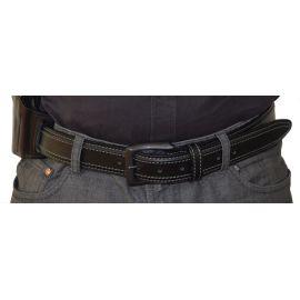 RADAR - Læderbælte til pistolhylster, Sort