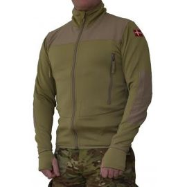 MLV - Tactical Tight Fleece (TTF), u/hætte, Khaki