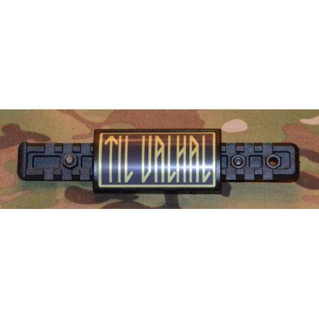 MLV by CGR - Rail Cover Til Valhal, sort/grøn
