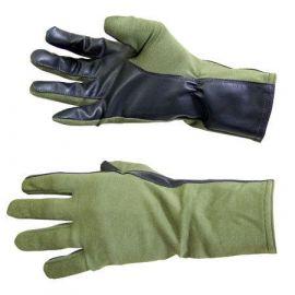 Summer Flyers Gloves (Nomex pilot handske), Grøn/sort - Str. 12