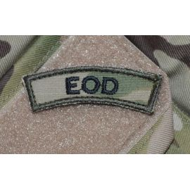 EOD - MultiCam på velcro