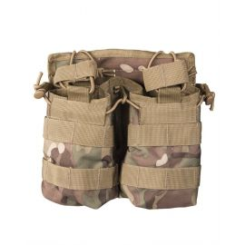 MIL-TEC - Dobbelt Shingle Pouch, Multicamouflage (MTS)