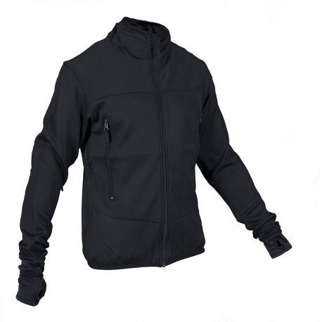 MLV - Tactical Tight Fleece (TTF), uden hætte, sort , DB