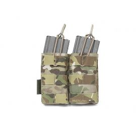 Warrior Assault System - Double Open Pouch, 5.56 mm, MultiCam
