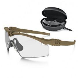 Oakley SI Ballistic M-Frame 3.0 Dark Bone Array m/kar og mørk linse