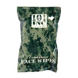 Camouflage Ansigtservietter (fugtig)
