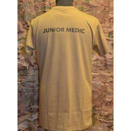 RAVEN - T-shirt, MTS-khaki - med JUNIOR MEDIC tryk
