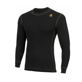 Aclima - Warmwool Shirt Crewneck, Sort