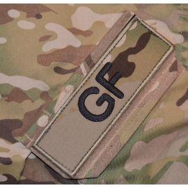 GF ærmemærke, MultiCam på velcro