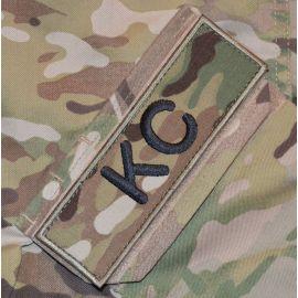 KC ærmemærke, MultiCam på velcro