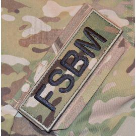 FSBM ærmemærke, MultiCam på velcro