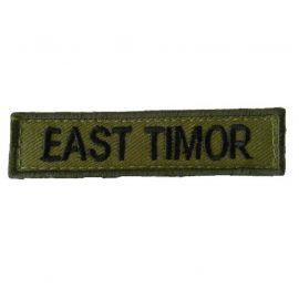 EAST TIMOR - Oliven/sort på velcro