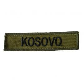 KOSOVO - Oliven/sort på velcro