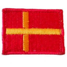 Skånes Flag - på velcro