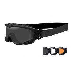 Wiley X - SPEAR Smoke/Clear/Light Rust Matte Black Frame