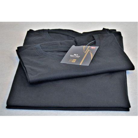 MLV - Duty T-shirt, Sort, 3 pak