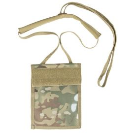 MIL-TEC - Neck ID Wallet, Multicamouflage (MTS)