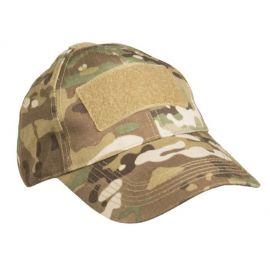 MIL-TEC - Felt Cap med Velcro - Multicamouflage