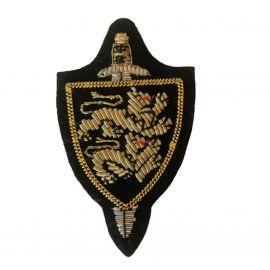 Slesvigske Fodregiment, Guldbroderi til Selskabsuniform
