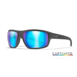 WILEY X -CONTEND Captivate Blue Mirror Matte Graphite Frame