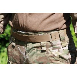 Tardigrade Tactical – Low Profile Hypalon Belt, Coyote - Large (UDSALG)