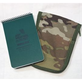 Taktisk Notebook Set (Modestone Notebook with Cover), Leg Pocket