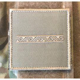 Gradstegn Konstabel, khaki på Velcro