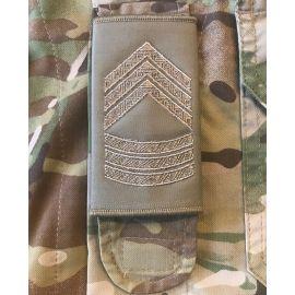 Gradstegn Seniorsergent, Khaki til Strop