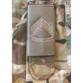 Gradstegn Korporal, khaki til strop
