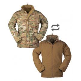 MILTEC - Cold Weather Jacket, vendbar i Multicamouflage/Coyote