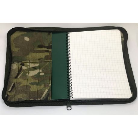 Modestone - Waterproof Taktisk Notebook, A5 (Tan) med LANCER Cover, MultiCam