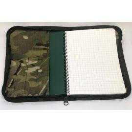 Modestone - Waterproof Taktisk Notebook, A5 (Tan) med LANCER Cover, MultiCam