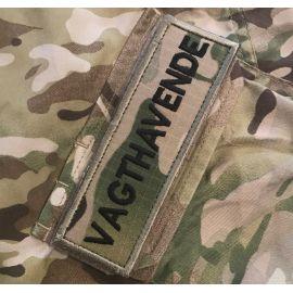 VAGTHAVENDE ærmemærke, MultiCam på velcro