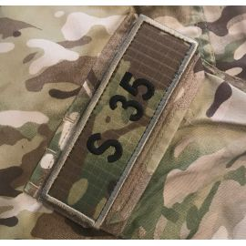 S35 ærmemærke, MultiCam på velcro