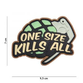 3D PATCH ONE SIZE KILLS ALL