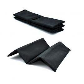 NORDPOL - Siddeplade, foldbar, sort