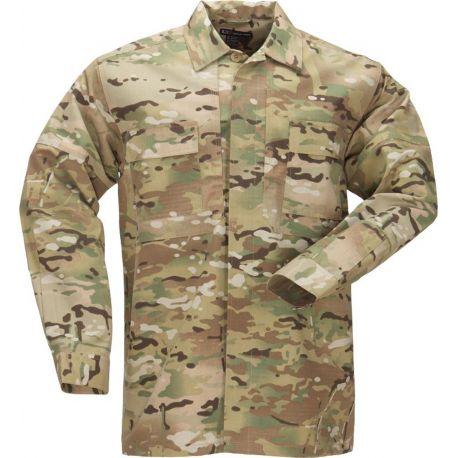 5.11 - Long Sleeve TDU Shirt, Multicam