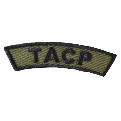 TACP - Oliven/sort, Iron On