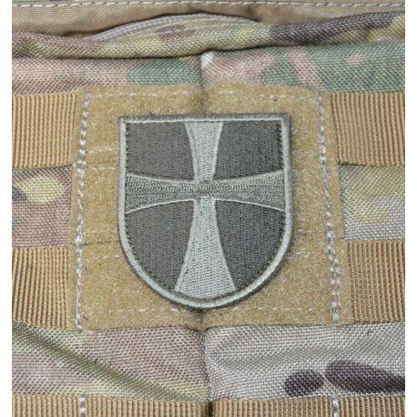 Dansk Mantova Kors med velcro - Grøn/oliven