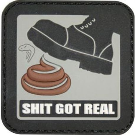 "Morale Patch ""Shit Got Real"""