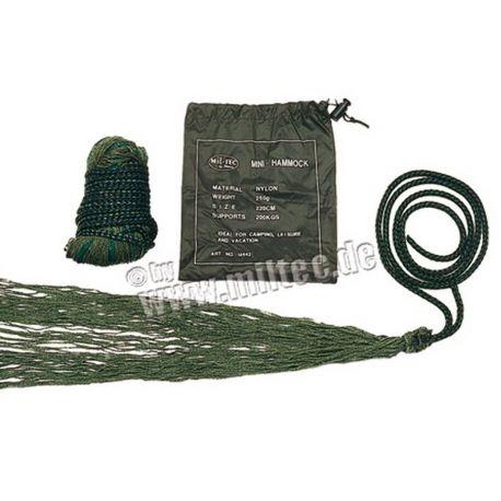 MIL-TEC - Felt-hængekøje, oliven