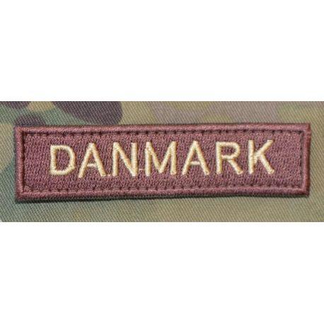 DANMARK - Brun/sand på velcro