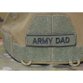 ARMY DAD Sort/Oliven - med velcro