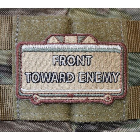 Front Toward Enemy - Sand/brun/grøn - med velcro