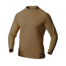 PFG - LONG SLEEVE MOCK TURTLE NECK SHIRT, MIDT WEIGHT