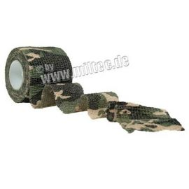 MIL-TEC - Tape, strækbar, 50mm, camouflage