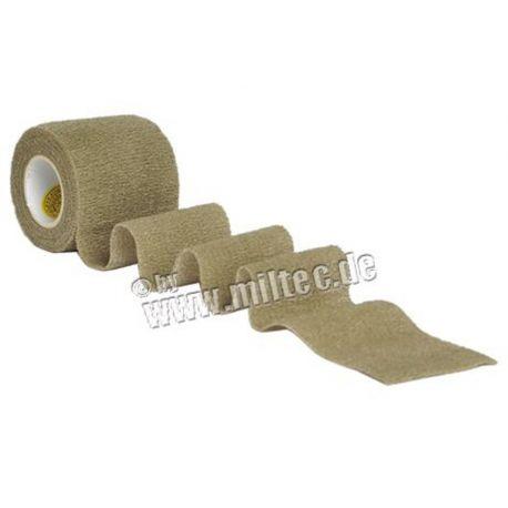 MIL-TEC - Tape, 50mm, strækbar, oliven